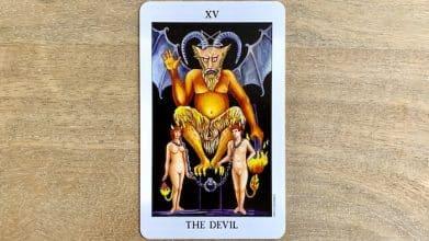 Tarot Rider Waite - The Devil