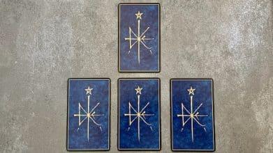 tirage de cartes oracle de la Triade
