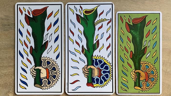 Tarot de Marseille : As de Bâton