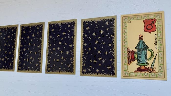 Oracle de Belline - Méchanceté - Carte 32