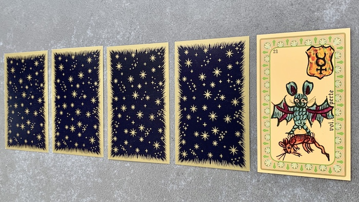 Oracle de Belline - Vol Perte - Carte 21
