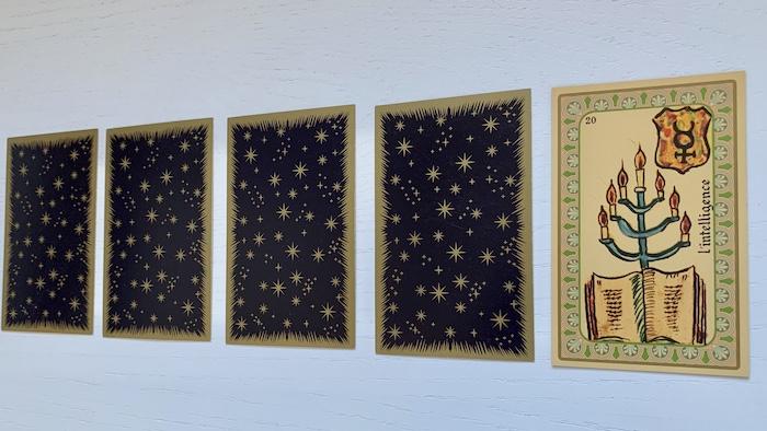 Oracle de Belline - l'Intelligence - Carte 20