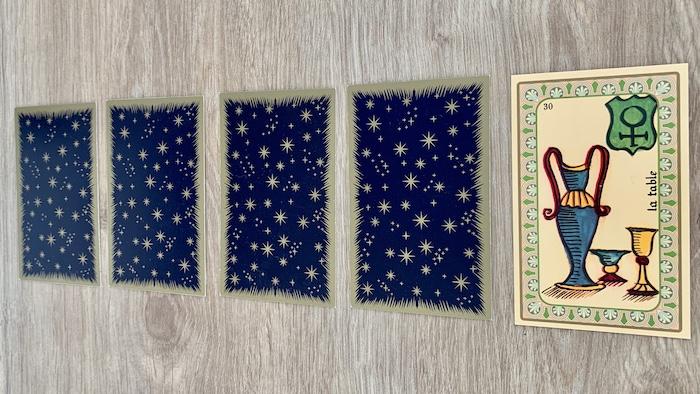Oracle de Belline - la Table - Carte 30