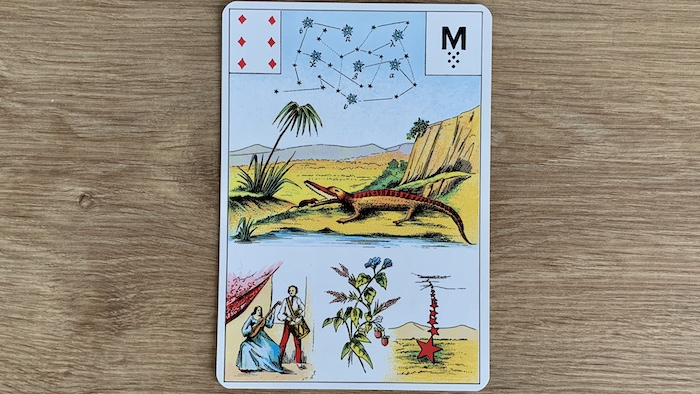 Grand Lenormand - 6 de Carreau
