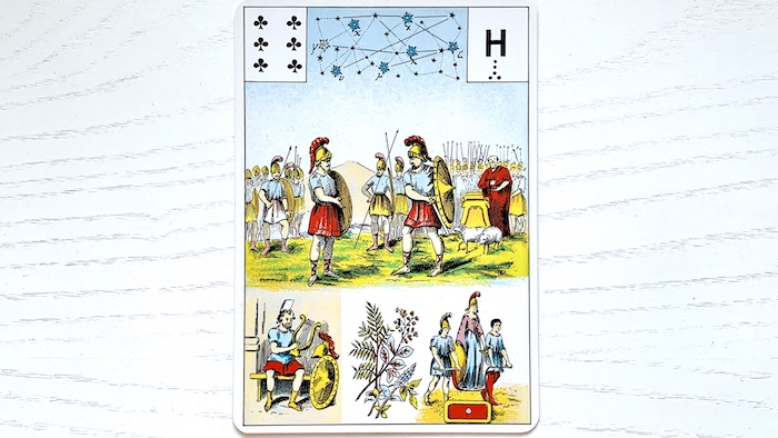 Grand Lenormand - 6 de Trèfle