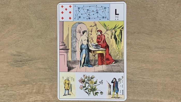 Grand Lenormand 7 de Carreau