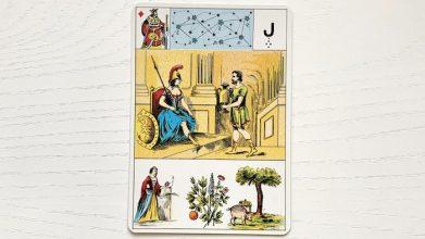 Grand Lenormand - Roi de Carreau
