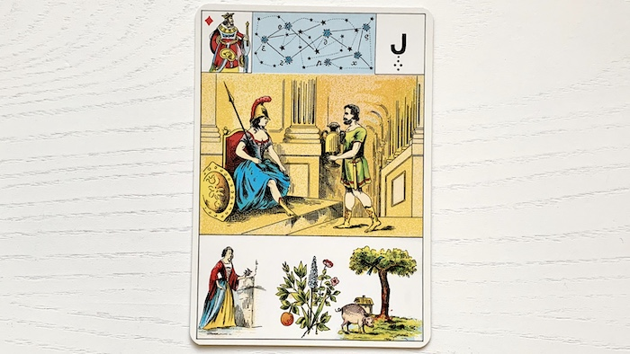 Grand Lenormand - Roi de Carreau