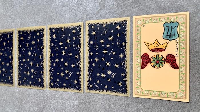 Oracle de Belline - le Hazard - Carte 44