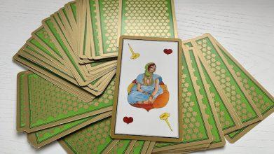 Tarot Persan Indira Dame de Coeur