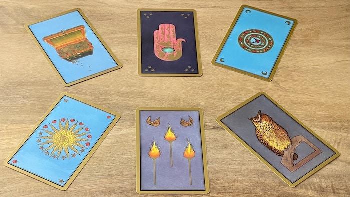 Cartes de protections du tarot persan Indira