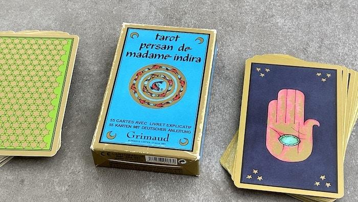 Le jeu de cartes du Tarot Persan Indira (Grimaud)