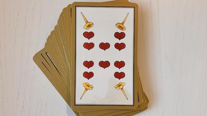 Tarot Persan Indira 10 de Coeur