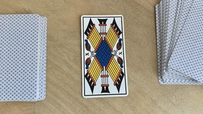 Tarot de Marseille 10 de bâtons