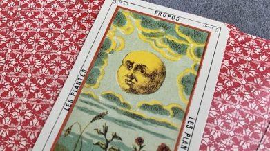 Tarot égyptien - Propos - Les Plantes carte 3 droite