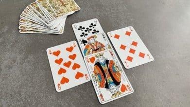 tirage en croix 32 cartes