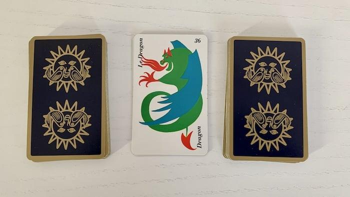 Horoscope Belline - Dragon carte 36