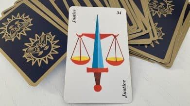 Horoscope Belline - Justice carte 34
