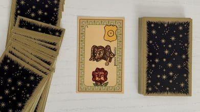 Oracle Belline associations de cartes Pensée Amitié