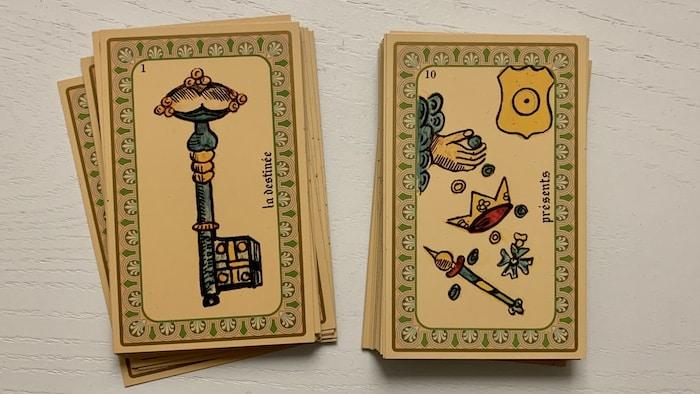 Tirage 2 cartes de l'Oracle Belline