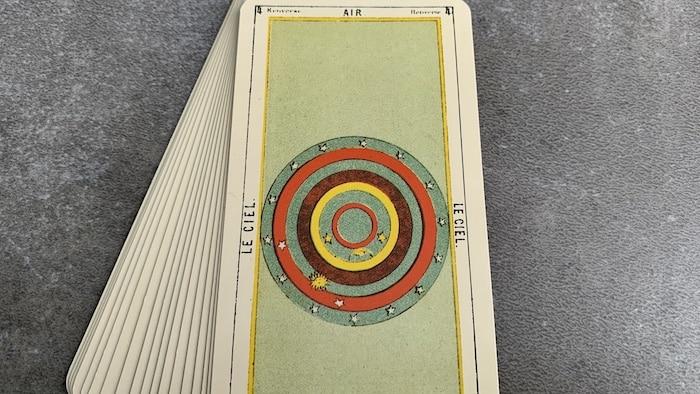 Tarot égyptien - Air - le Ciel (carte renversée n°4)