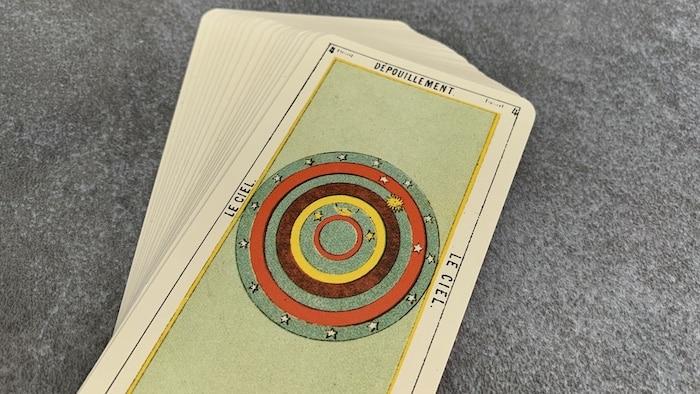 Tarot égyptien - Dépouillement - le Ciel (carte droite n° 4)