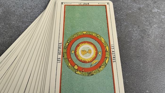 Tarot égyptien - le Jour - les Astres (carte renversée n°6)