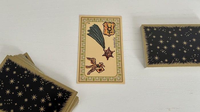 Nouvelle Oracle de Belline et ses associations de cartes
