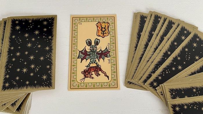 Vol Perte de l'Oracle de Belline et ses associations de cartes