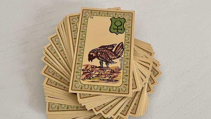 Oracle Belline Famille et ses associations de cartes