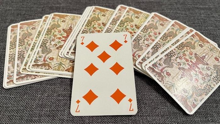 Cartomancie 32 cartes - associations 7 de Carreau