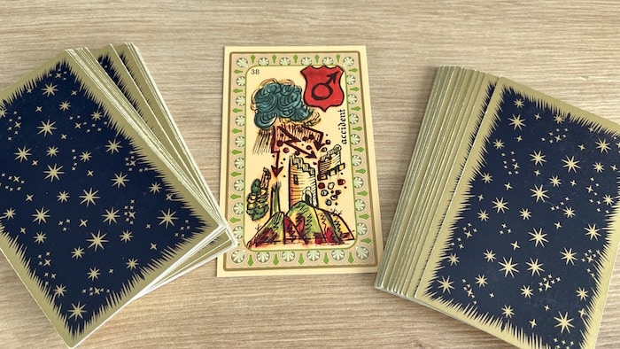 Oracle Belline Accident et ses associations de cartes