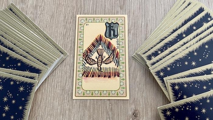 Oracle Belline la Grâce et ses associations de cartes
