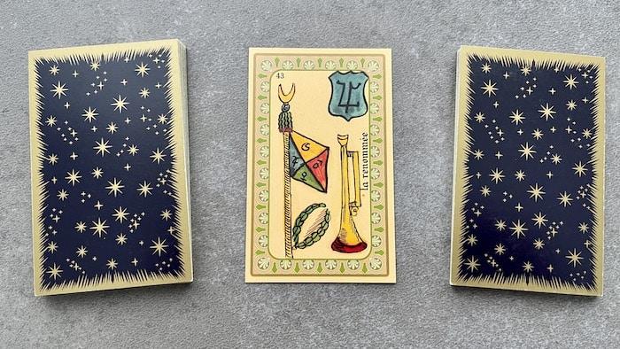 Oracle Belline la Renommée et ses associations de cartes