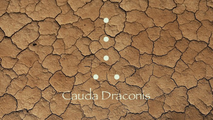 geomancie cauda draconis