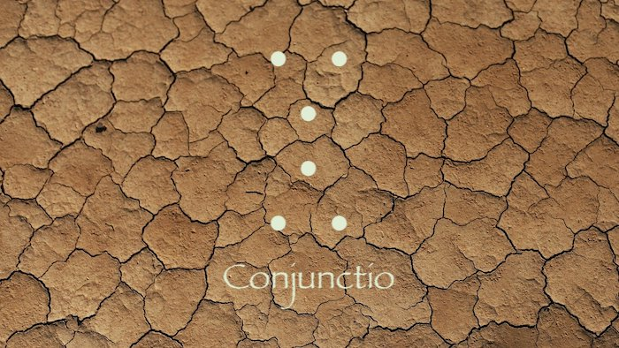 geomancie conjunctio ou la conjonction
