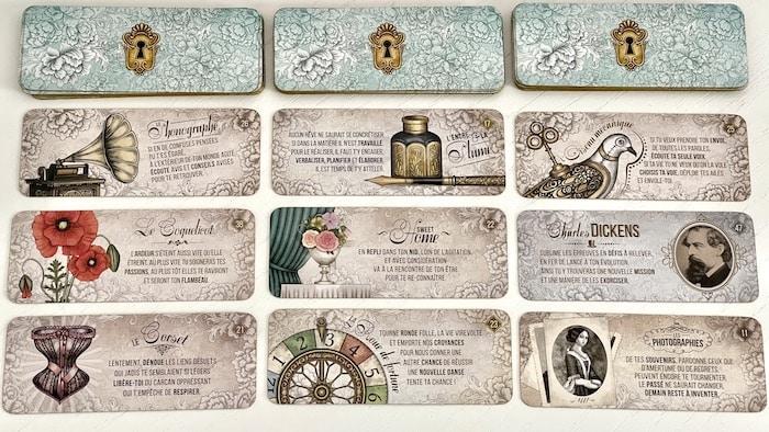 Cartes du Petit Oracle Victorien
