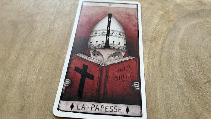 La Papesse du tarot de Marseille (2)