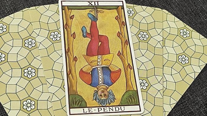 Le Pendu (12) tarot de Marseille