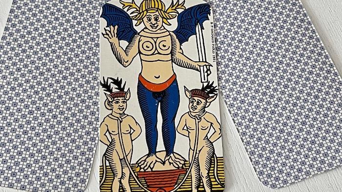 Diable du Tarot de Marseille