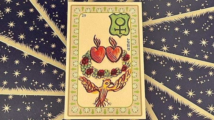 Amor - Carte n°29 - Oracle Belline
