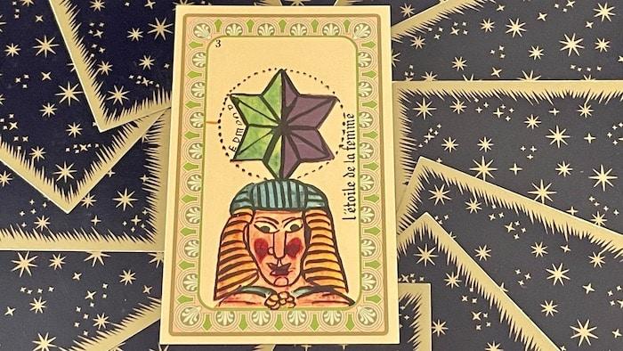 L'Étoile de la Femme - Carte n°3 - Oracle Belline