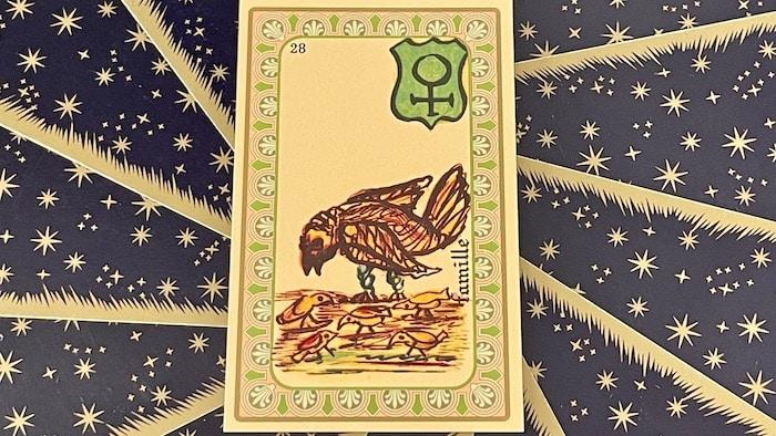 Famille - Carte n°28 - Oracle Belline