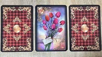 Gilded Reves du Petit Lenormand Bouquet