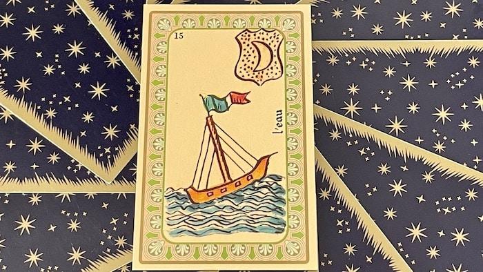 Eau - Carte n°15 - Oracle Belline