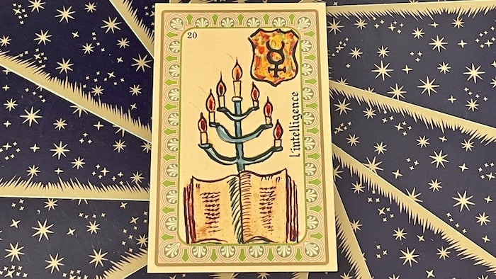 Intelligence - Carte n°20 - Oracle Belline