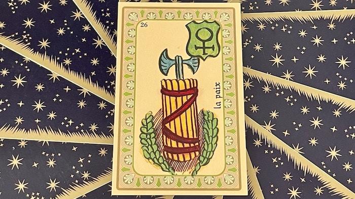 La Paix - carte n°26 - Oracle Belline