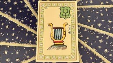 Plaisirs - Carte n°25 - Oracle Belline