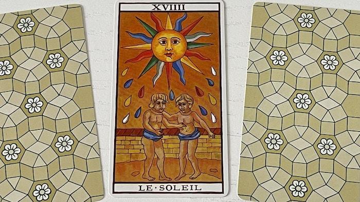 Soleil du Tarot de Marseille (19)
