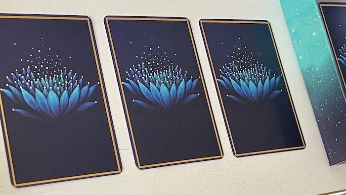 Oracle Bleu cartes